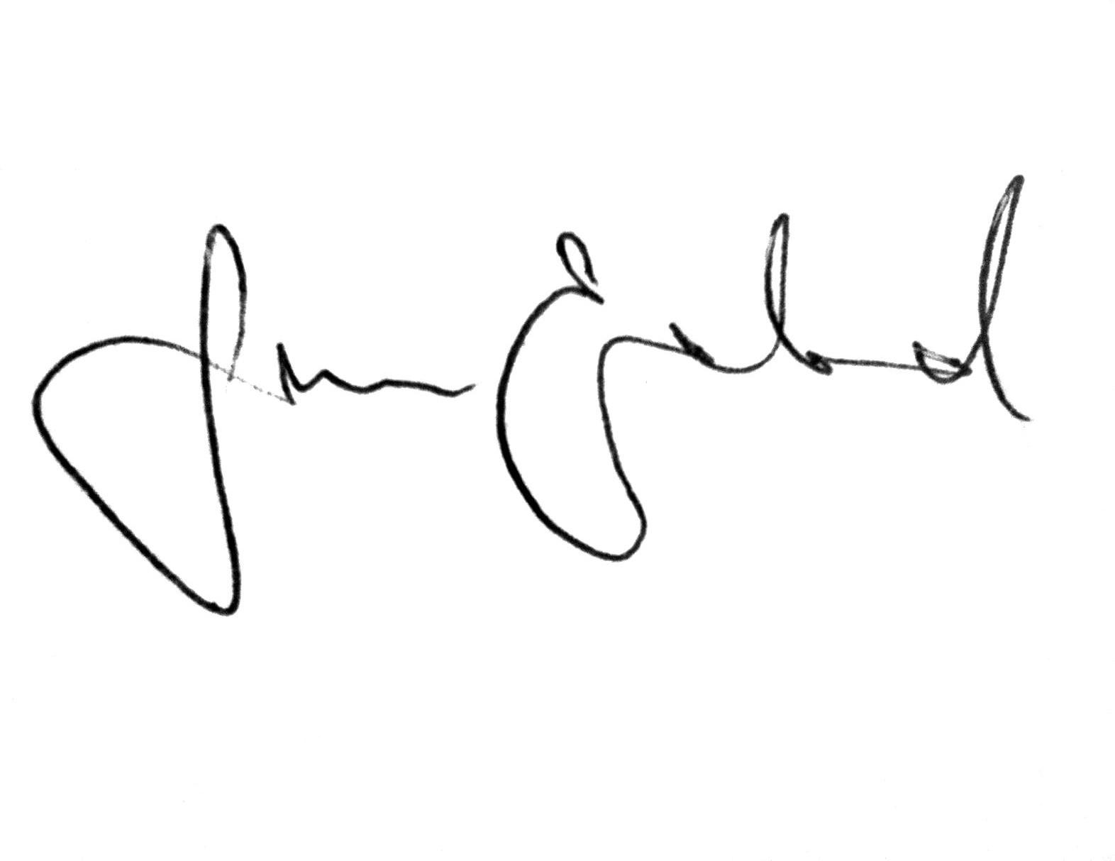 June Enerstad-signatur