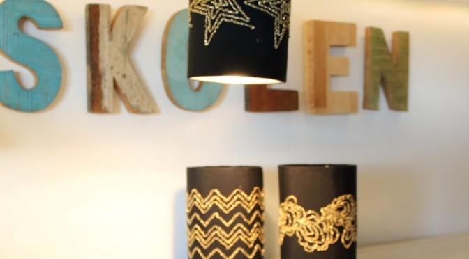 Designer stjernelampe