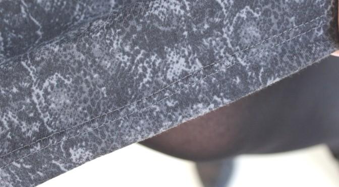 Sy enkelt – jerseyskjørt med A-fasong