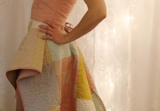 Quiltet kjole