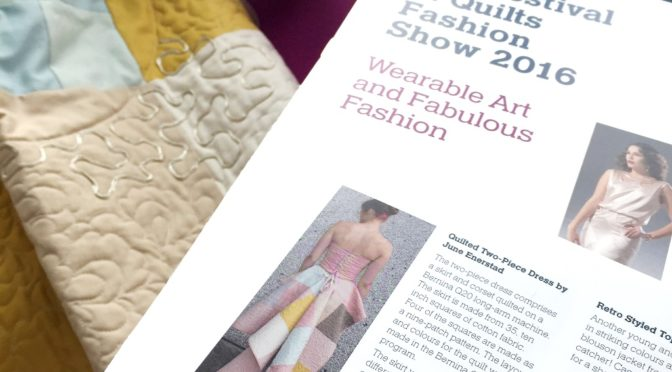 The Festival of Quilts Fashionshow