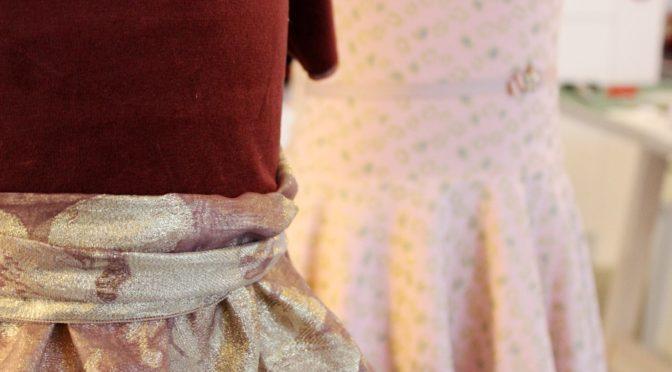 Lag selv mønster for skjørt til barnekjole