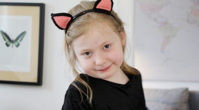 Fastelavn – Maise er Kitty Fløjlspote