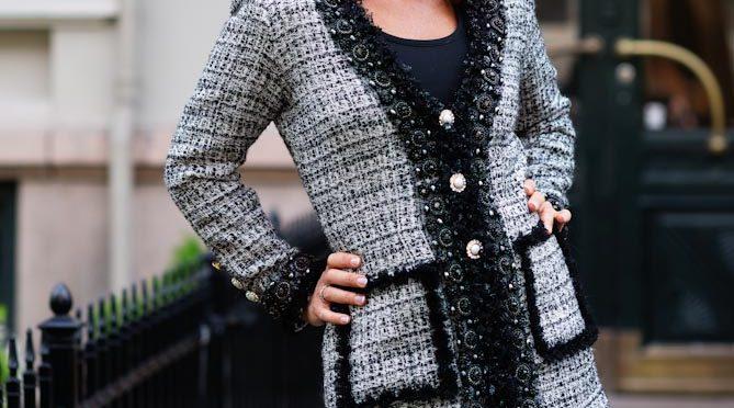 Chaneljakke fra Tine Solheim Design