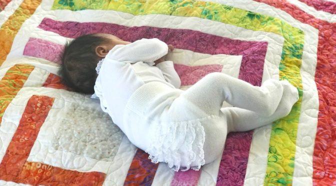 Den søteste babyquilt – del 1