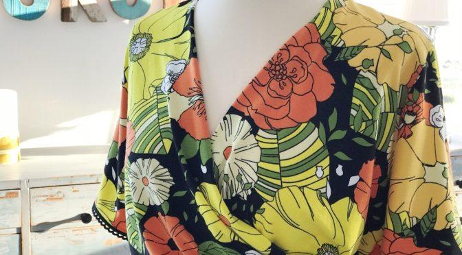 Flower Power Wrap Dress – overdelen