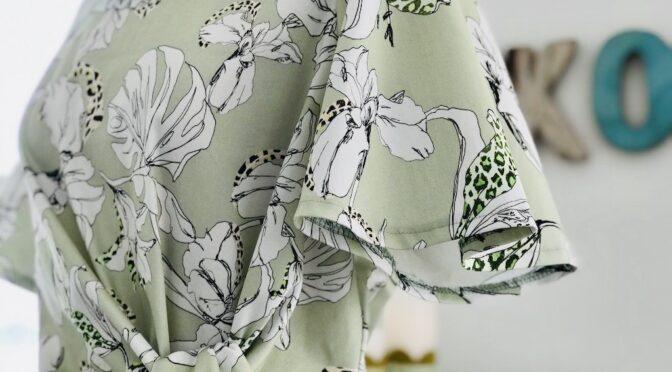 Mintgrønn sommerkjole