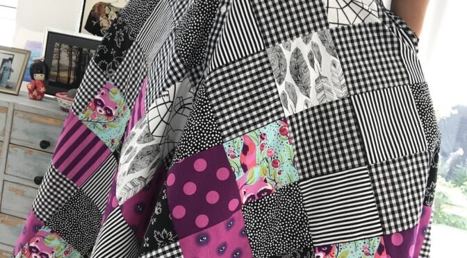 Tula Pink – Patchwork skjørt