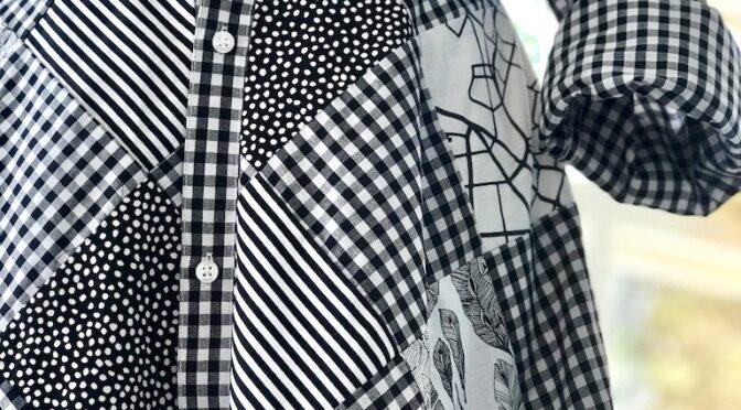 Tula Pink Patchwork Skjørt – linning og stolpe