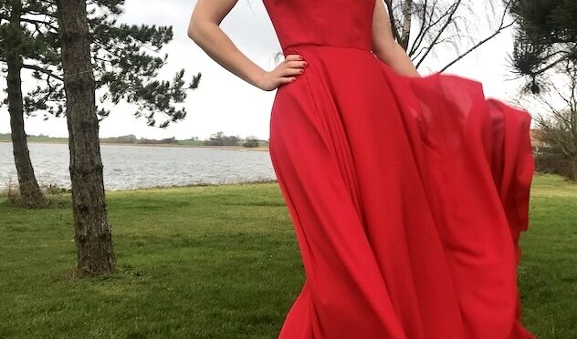 The Lady in Red – Andrea´s gallakjole